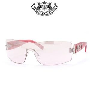 Juicy Couture Candy/s Sunglass in Palladium Pink